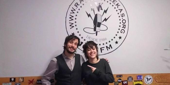 Audio del programa #130 -El corazón al viento en Radio Vallekas- con Adormidera y Javier Sólo (24 de enero 2019)