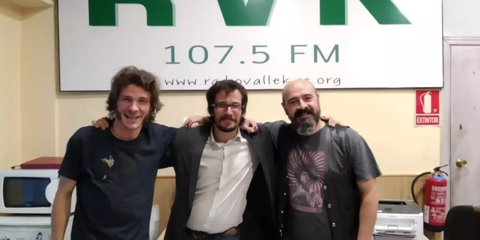 Audio del programa #146 -El corazón al viento en Radio Vallekas- con Cigar&Wine y Luis Cadenas (16 de mayo 2019)