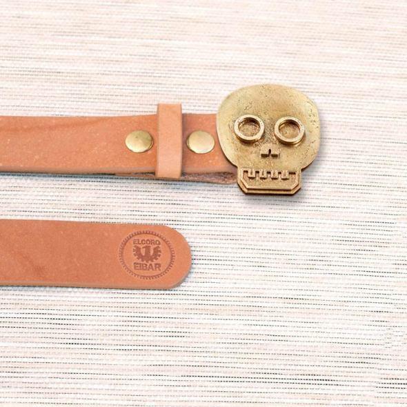 Cierres para cinturones con forma de calavera