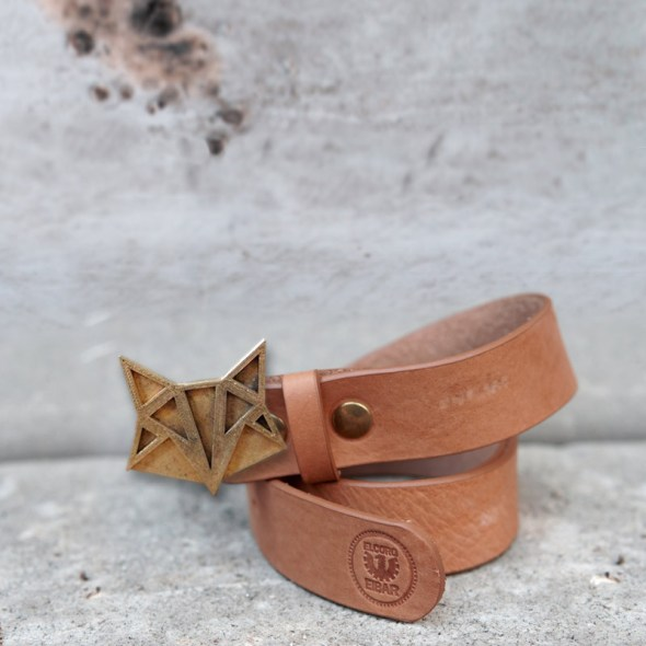Hebillas para cinturones de mujer en forma de zorro partiendo de impresión en 3D