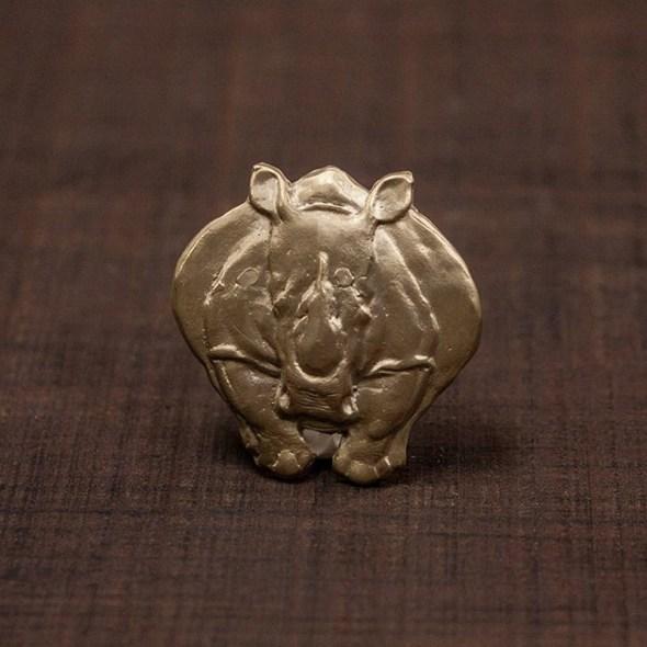 hebilla rinoceronte cara