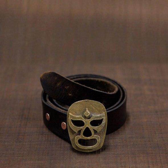 Hhebillas XL para cinturones Luchador Mexicano