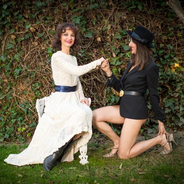 modelos de correas para damas LOTO cuero azul brillo