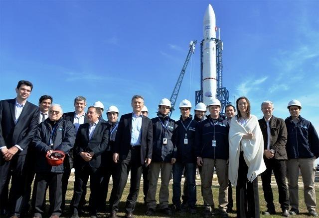 Lanzamiento del Plan Estratégico Nacional en Tecnología en Punta Indio