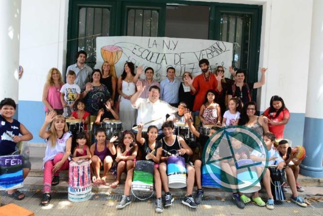 """Cierre de las """"Escuelas Abiertas en Verano"""" en Berisso"""