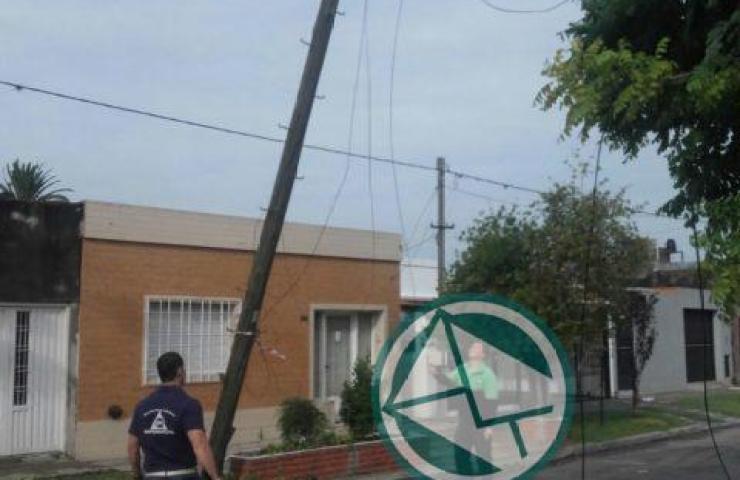 Acciones en Berisso ante el temporal del fin de semana 07