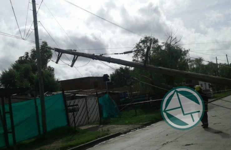 Acciones en Berisso ante el temporal del fin de semana 08