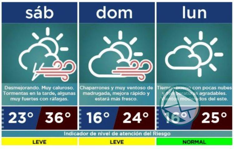 Alerta 'Amarillo': Intensifican el monitoreo ante probabilidad de lluvias y vientos fuertes