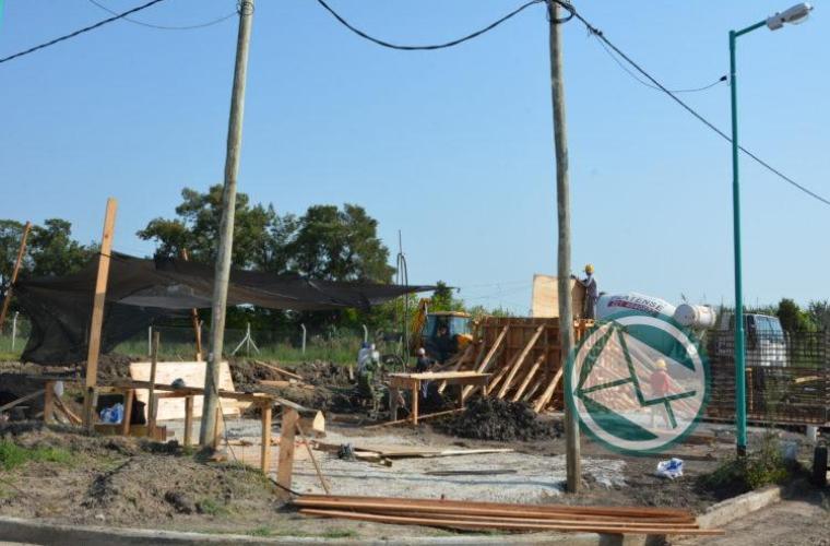 Obras en el barrio PROCREAR Santa Teresita Nedela 02