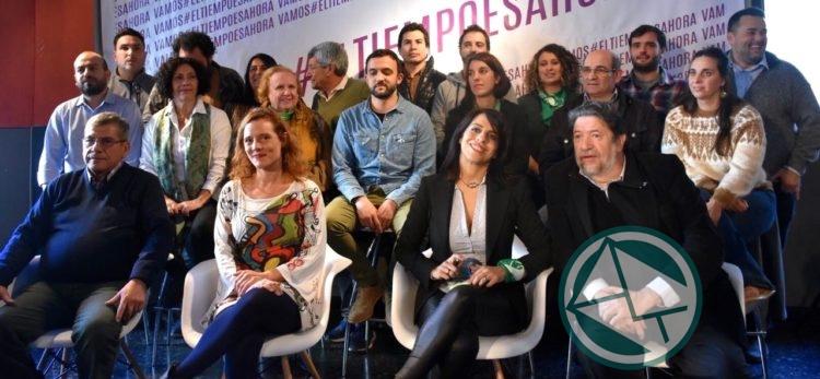 """Movimientos sociales y partidos de izquierda presentaron el frente """"Vamos"""""""