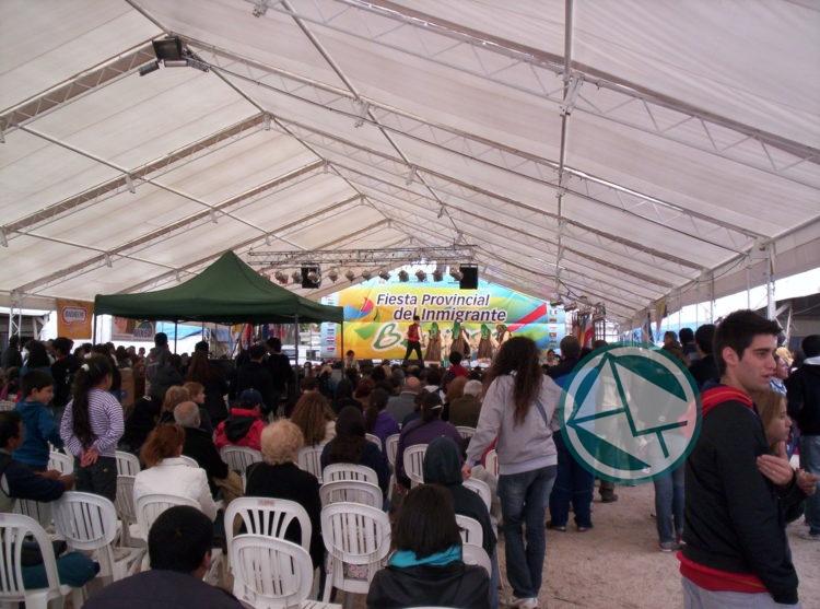 Buscan acondicionar predio para la Fiesta Provincial del Inmigrante