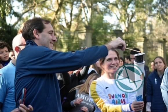 La Plata recibió la Antorcha Olímpica 03