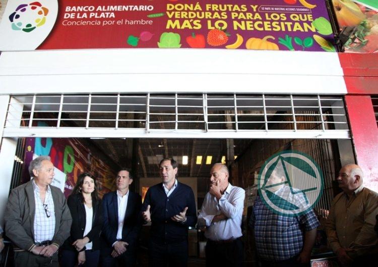 El Banco de Alimentos inauguró un espacio en el Mercado Regional que le permitirá recuperar más productos