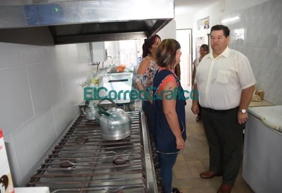 Inauguración de la cocina del Centro Educativo Complementario N° 801 01