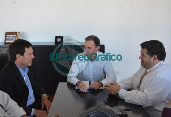 Nueva reunión entre Jorge Nedela y el CEO de TecPlata 2