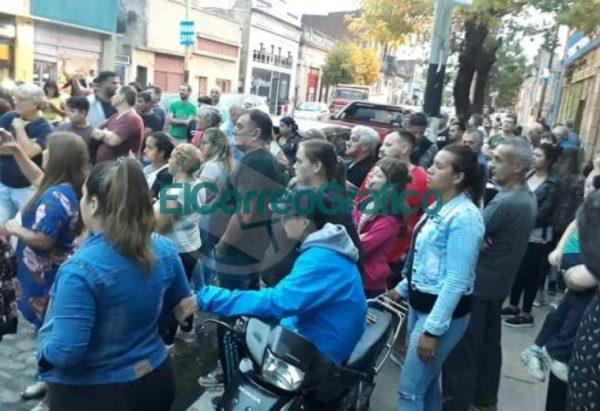 La facción del Movimiento Evita de Moli Mareco inauguró local y ratificó su acompañamiento a Mincarelli 04