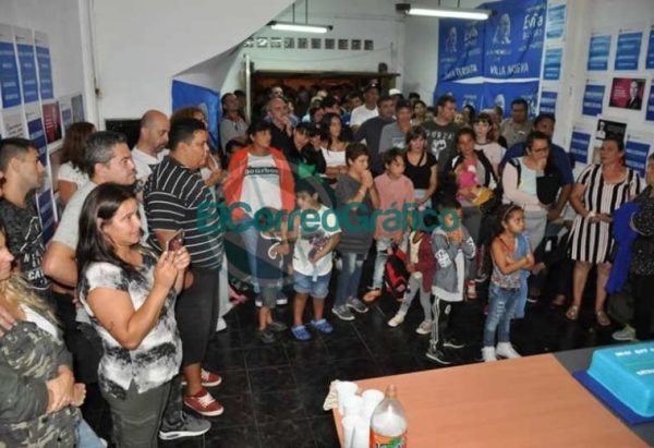 La facción del Movimiento Evita de Moli Mareco inauguró local y ratificó su acompañamiento a Mincarelli 05