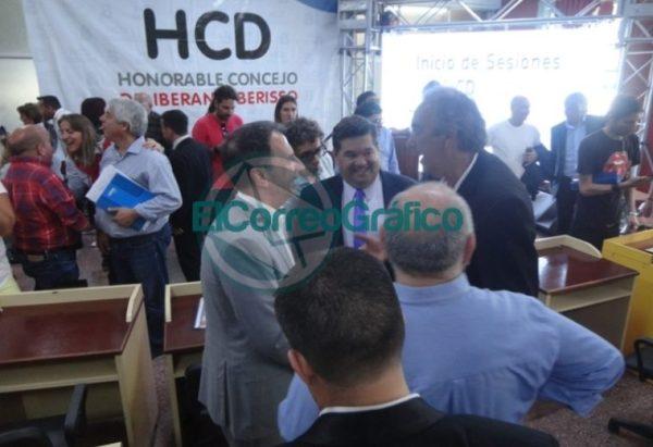 Nedela hizo hincapié en sus 38 meses de gestión en el discurso inaugural del Concejo Deliberante 09