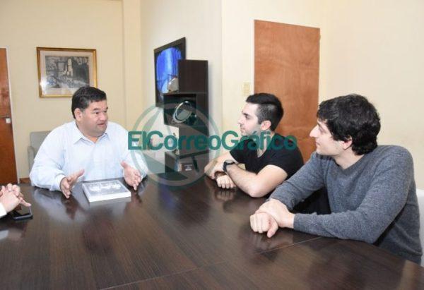 Nedela recibió a Joaquín Inama quien representará al país en la Olimpiada Internacional de Matemática 4