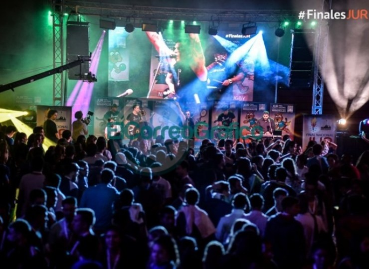 La gran fiesta de los Juegos Universitarios Regionales 09
