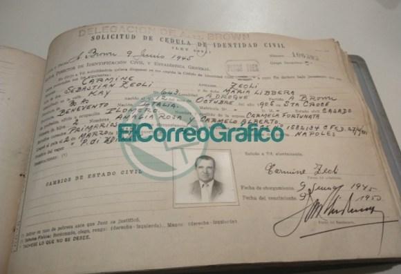 Documentación histórica de inmigrantes en Berisso realizado por el Registro Provincial de las Personas 4