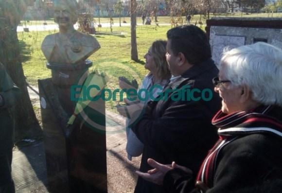 Claudia Rucci pasó por Berisso en su recorrido del frente Juntos por el Cambio 06
