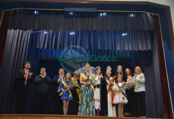 La flamante Representante Cultural de la Colectividad Ucraniana es Gisela Ricabarra Petryczka 1