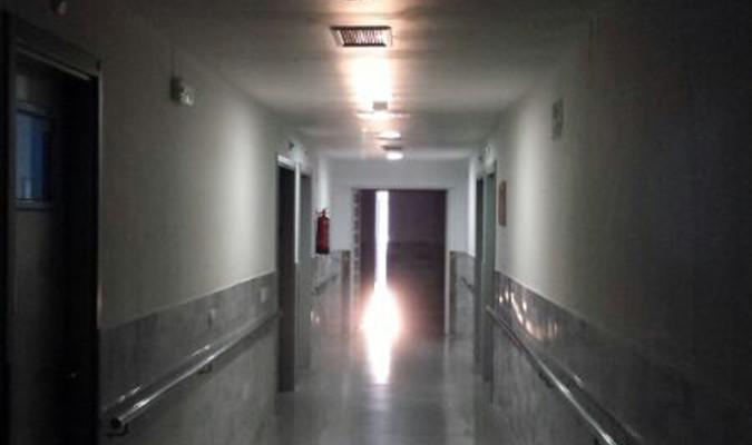 Pasillo del psiquiátrico de Miraflores. / El Correo