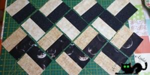 Así tienes que colocar las piezas del quilt