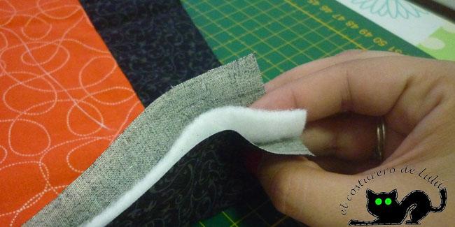 Las tres capas que forman el sandwich de un quilt