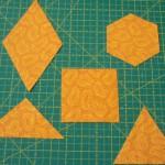 Los diferentes tipos de cortes en patchwork