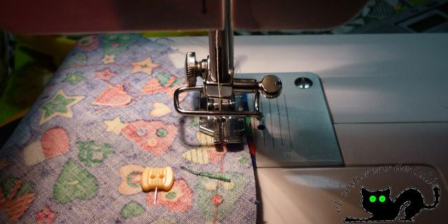 Empezamos a coser el cuerpo