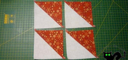Hacemos nuestros cuadrados formados por triángulos