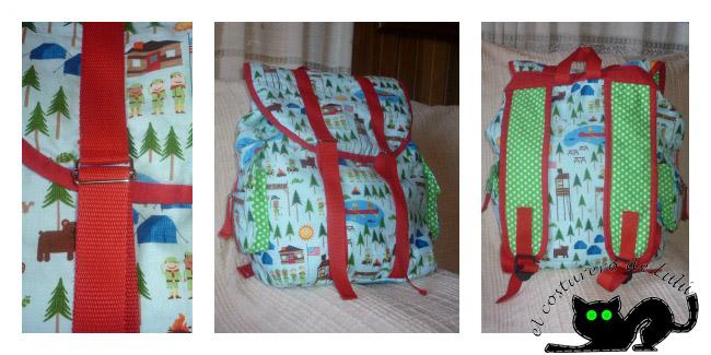 Nuestra mochila y algunos de sus detalles