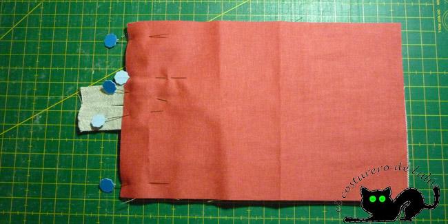 Preparamos las telas para coser