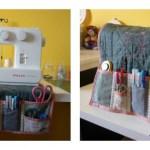 Funda y organizador para tu máquina de coser