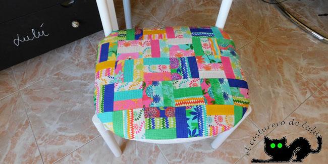 Detalle de la silla acabada