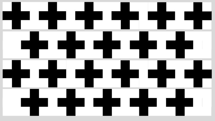 Edredón negro y blanco