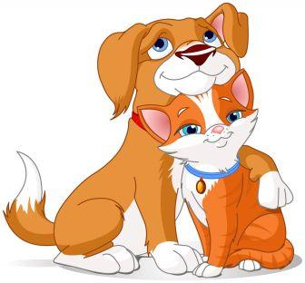 cartoon dog and cat 3