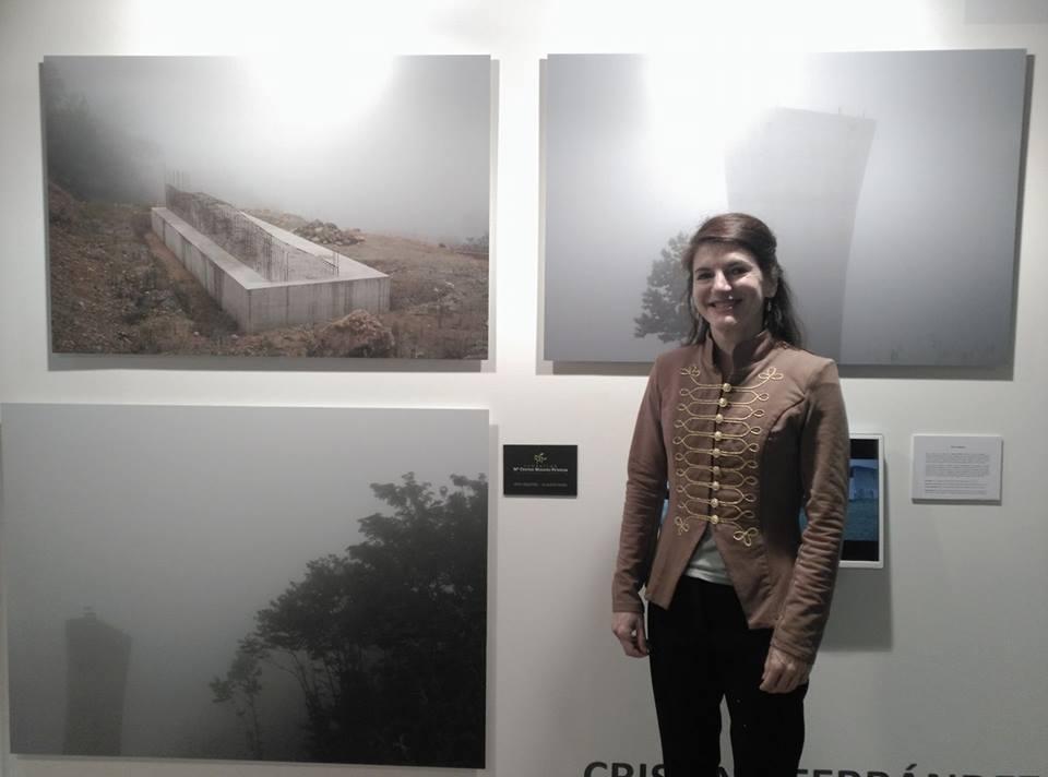 Cristina Ferrández en JustMad con Puxagallery