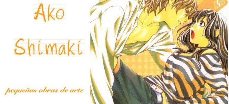 Ako Shimaki, ¡una mangaka diferente!