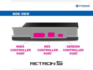 RetroN 5 - Consola de costado