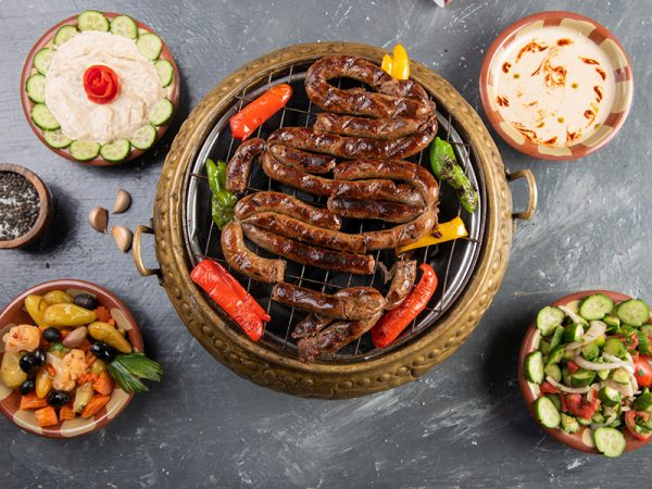 افضل شيف مشويات بالمملكه - شيف عيد المصرى ملك المشويات