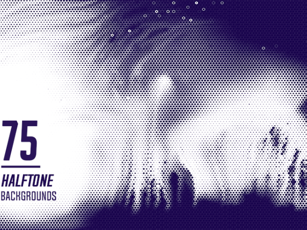 75 Halftone Backgrounds