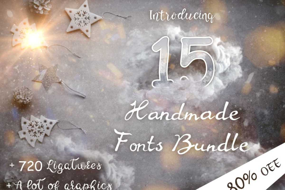 15 Creative Handmade Fonts