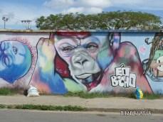 Some sick graffiti I found near our house.