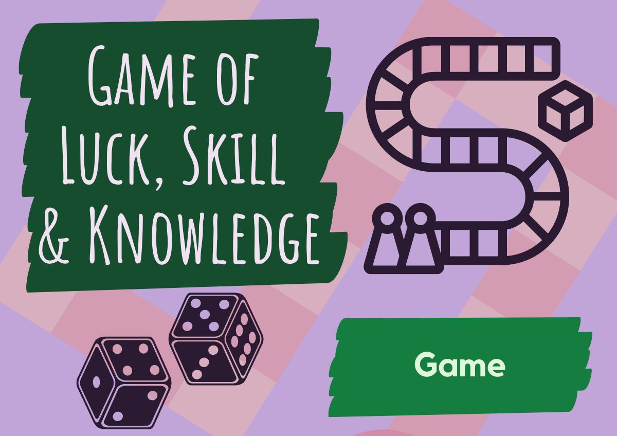 Game of Luck, Skill and Knowledge
