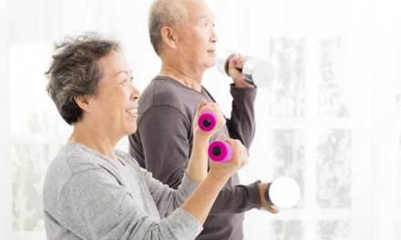 Strength training helps older adults live longer