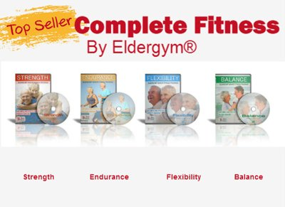 Complete Senior Fitness Program 4 DVD plus 1 Bonus DVDs