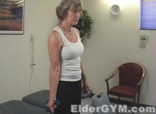 Side Shoulder Raise start